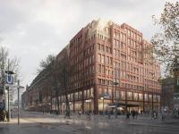 Projektentwicklung Hyatt Centric Alstadt Hamburg / Bildquelle: Sergison Bates Architects, London