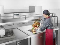 Die Nassmüllentsorgung ist die professionelle Lösung zur Entsorgung von Speiseresten und organischen Küchenabfällen. / Bildquelle: Beide Winterhalter Gastronom GmbH