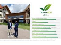 GreenSign Zertifizierung Der Birkenhof Spa & Genussresort, Maximilian Dielitz (InfraCert Auditor) und Lukas Obendorfer (Inhaber Der Birkenhof) / Bildquelle: InfraCert GmbH
