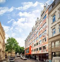 Außenansicht des Jaz in the City Vienna / Bildquelle: Steigenberger Hotels AG