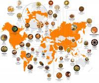 Beliebteste weltweite Gerichte gemäß Instagram Hashtags