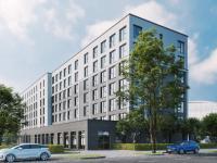 Gebäudevisualisierung acora Berlin Living the City   the niu Flash / Bildquelle: © casa Ingenieure GmbH