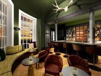 Stylish - und passend zum historischen Ambiente des Herrenhauses Hotel Gut Immenhof / Abbildung: GEPLAN DESIGN