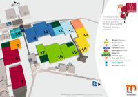 ProWein 2022 Übersichtskarte / Bildquelle: Messe Düsseldorf GmbH