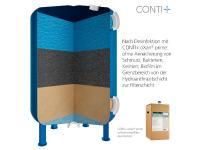 Schwimmbadfilter nach der Desinfektion mit CONTI+ oXan® prime