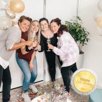DHA Team vl. Bettina Heider, Sophie Sander, Sarah Kynast, Tina Goller / Bildquelle: Deutsche Hotelakademie