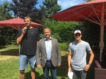 Dirk Nowitzki lud zum Champions for Charity-Fussballspiel ein