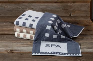 Spa-Handtücher und andere kuschelige Begleiter für Spa und Gästebad
