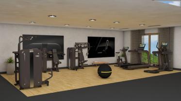Fitnessgeräte für Hotels von Technogym