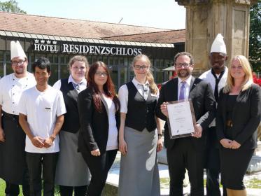 'Exzellente Ausbildung' bei Welcome Hotels