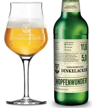 Bierspezialitäten neu mit Dinkelacker Hopfenwunder