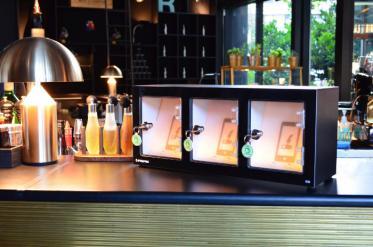 Handy-Tankstelle für Gastronomen
