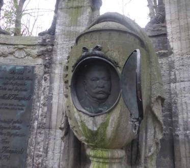 Berthold Kempinski auf dem jüdischen Friedhof Berlin Weißensee