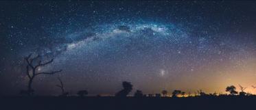 Der Himmel über Sabi Sabi in Afrika