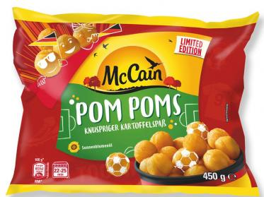 McCain Foods launcht Pom Poms im WM-Look