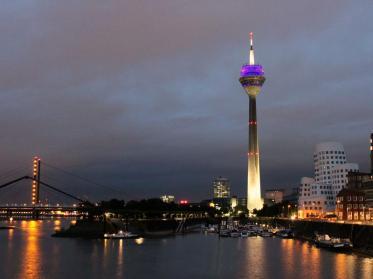 Centro investiert mehrere Millionen in Düsseldorfer Rheinturm