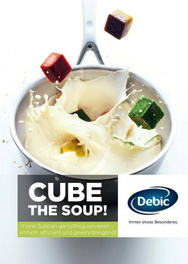 CUBE THE SOUP - neue Inspiration für perfekte Suppen von Debic