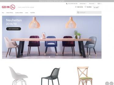 GO IN-Webshop: Neuer Look und innovative Planungstools