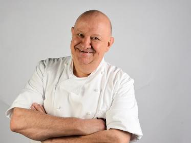 Gourmetkoch Thomas Jaumann für den Campus Jakobsberg
