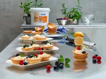 Mini-Tartelettes mit GASTRO Aprikosenquark