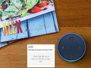 Alexa frage ALEX: Erlebnisgastronomie präsentiert neue digitale Angebote