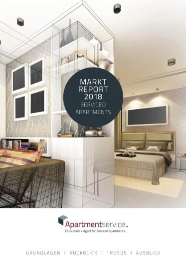 Apartmentservice hat den 'Marktreport Serviced Apartments 2018' fertiggestellt
