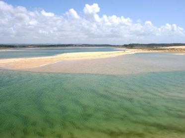 Der längste Strand Portugals