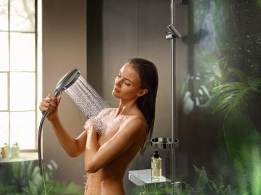 Hoteldusche wird Wellnessoase