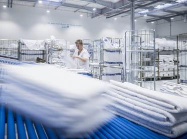 Textilservice 'Made in Germany' ist bei Greif ein Qualitätsversprechen