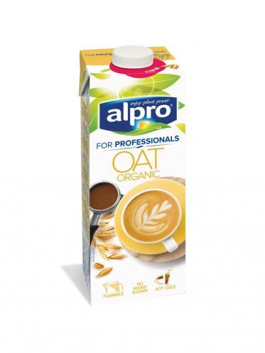 Neuer Bio Haferdrink von Alpro For Professionals
