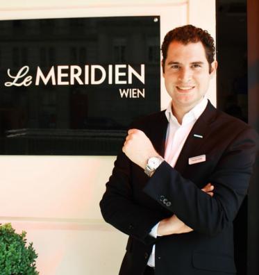 Director of Rooms Division im Le Méridien Wien ist nun Thomas Duxler