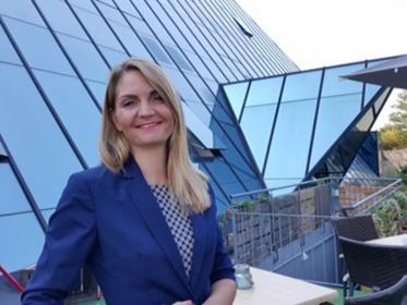 Lisa-Kristina Bäcker ist Resident Manager im Excelsior Hotel Nürnberg Fürth