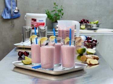 Fruchtiger Trinkgenuss mit GASTRO Kirschjoghurt