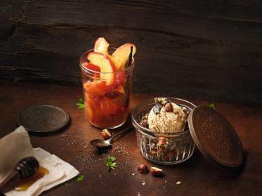 Neues Haselnusseis für die Gastronomie von Mövenpick