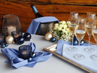 Elegante Tischwäsche für festliche Stunden