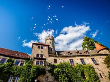 Schloss Tagung in Ahorn bei Coburg