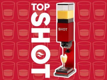 TopShot - der neue Portionierer für heiße Liköre und Spirituosen