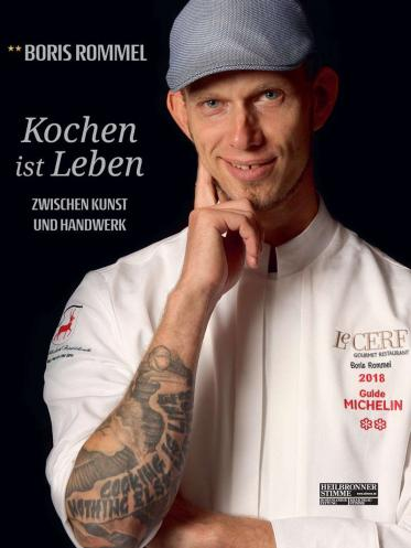 2-Sternekoch Boris Rommel stellt sein erstes Kochbuch vor