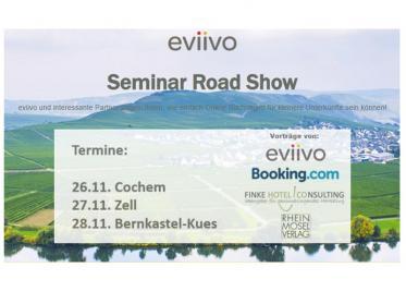 eviivo Seminar Road Show für das Gastgewerbe