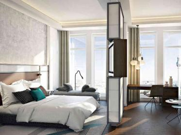 Höchste Hotel Suite in Berlin am Alexanderplatz