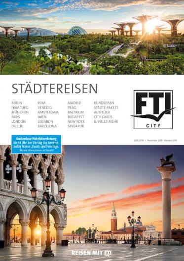 Nachhaltig reisen mit Genuss auf FTI-Städte-Trips und Rundreisen