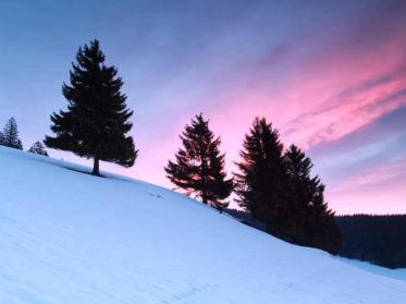 Winterurlaub im Mittelgebirge im Klimawandel