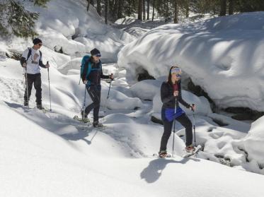 Schneeschuhwandern in der Wildschönau