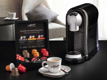 Alfredo Espresso präsentiert eigenes Kapsel-Konzept