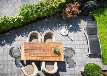 Welche Kosten für die gewerbliche Gestaltung einer Gastronomie-Terrasse?