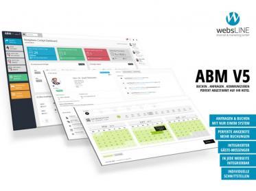 Neue Maßstäbe mit dem ABM V5 Anfrage- & Buchungssystem von websLINE