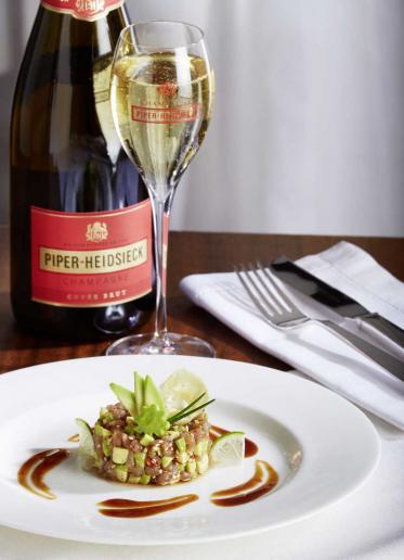 Perfektes Foodpairing mit Piper-Heidsieck Champagner Brut