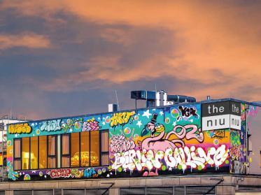 the niu Hide Berlin wurde in Modulbauweise errichtet