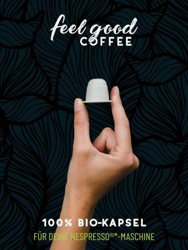 Nachhaltige Kaffeekapseln von Feel Good Coffee