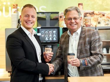 Franke und Landi Sursee digitalisieren den Kaffeegenuss
